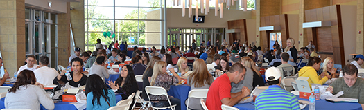 New Student Orientation at Logan University