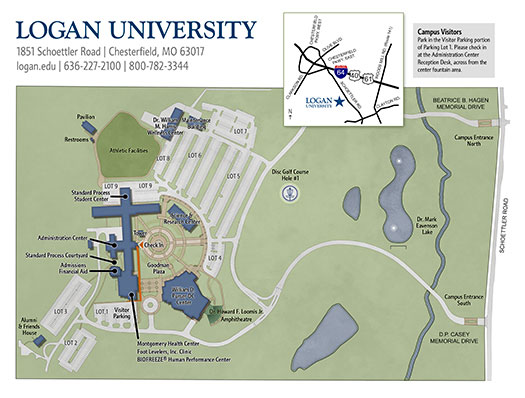 Logan University Campus Map