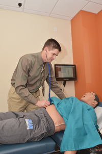 Human Simulator at Logan College of Chiropractic