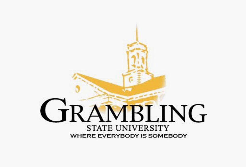 Grambling State University logo.