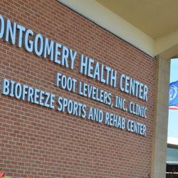 Montgomery Health Center building.