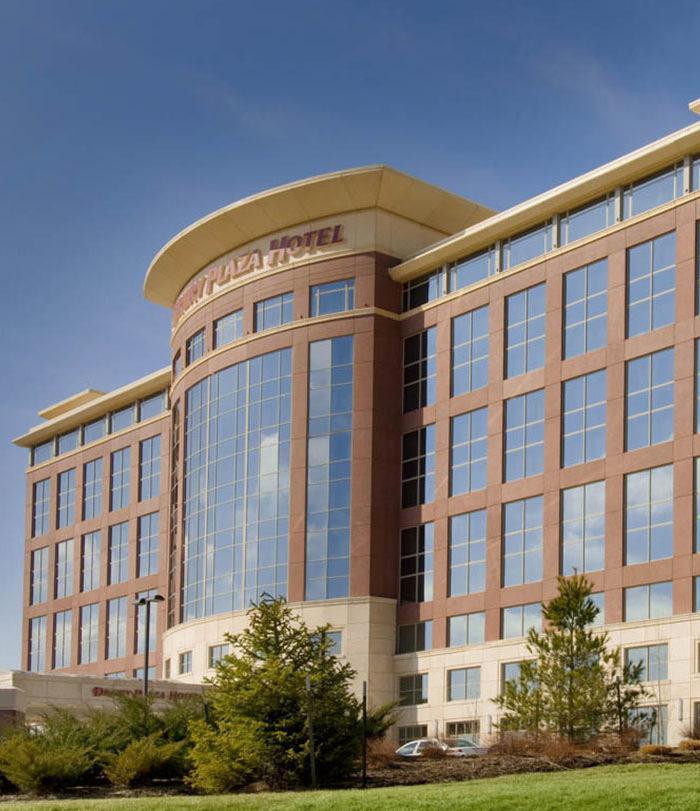 Image of Drury hotel in St. Louis.