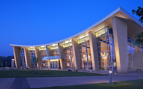 Photo of the Purser Center.