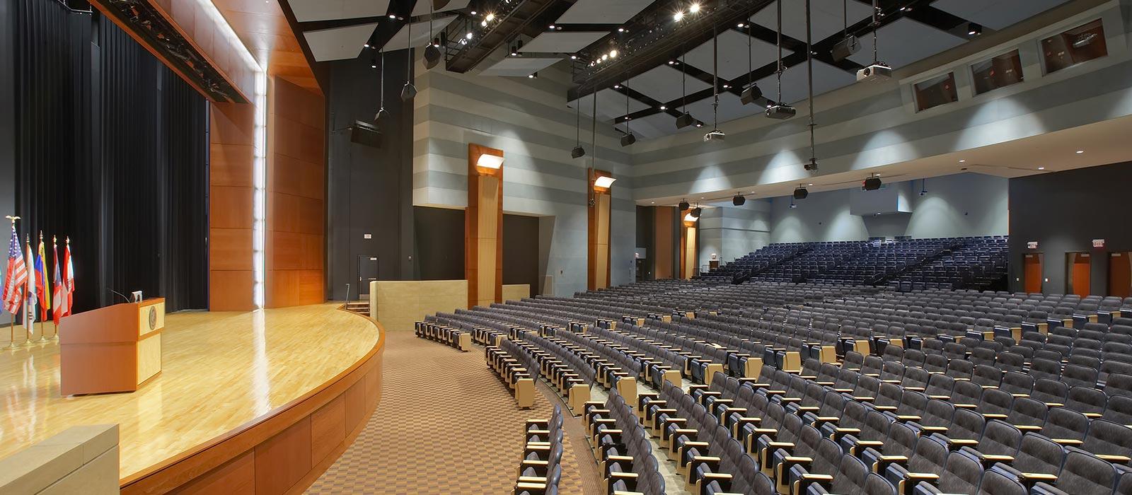 Logan auditorium.