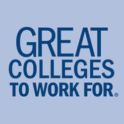 Great Colleges to Work For logo.