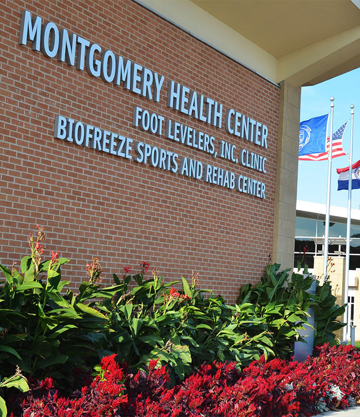 Montgomery Health Center building.