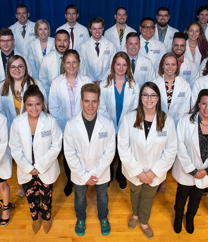 Group photo of white coat ceremony