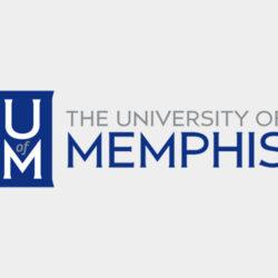 University of Memphis logo.