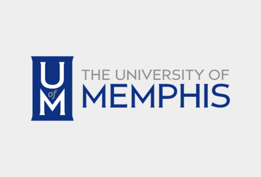 University of Memphis logo.