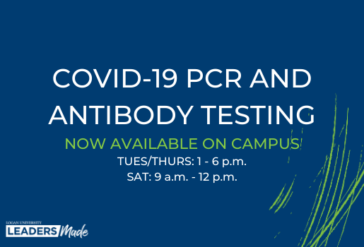 Lab Test Diagnostics, the in-clinic lab at Logan University, will offer on-campus COVID-19 PCR and antibody testing to the public.
