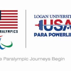 U.S Paralympics and Para Powerlifting logos