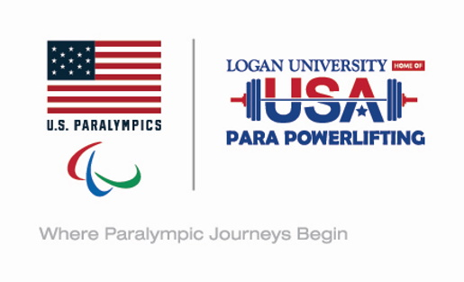 U.S Paralympics and Para Powerlifting logos