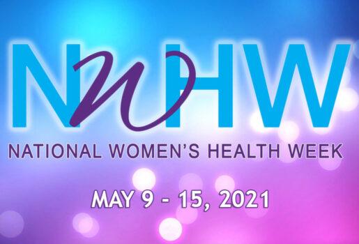 National Women's Health Week graphic