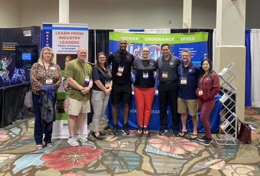 Logan University attends the National Strength & Conditioning Association 2021 Conference